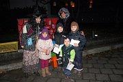 Děti z MŠ Hastrmánek si užily cestu za pokladem.