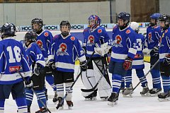 Mladí hokejisté HC Tábor. Ilustrační foto