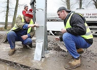 Ilustrační foto. Ve Veselí nad Lužnicí dnes začne stavba protipovodňových opatření.
