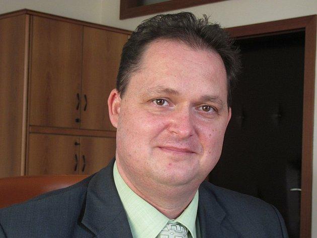Ředitel táborského úřadu práce Pavel Kaczor.