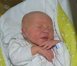 Daniel Černý ze Zárybničné Lhoty. Narodil se 14. října ve 21.26 hodin. Vážil 3630 gramů, měřil 54 cm a doma má pětiletou sestřičku Dominiku.