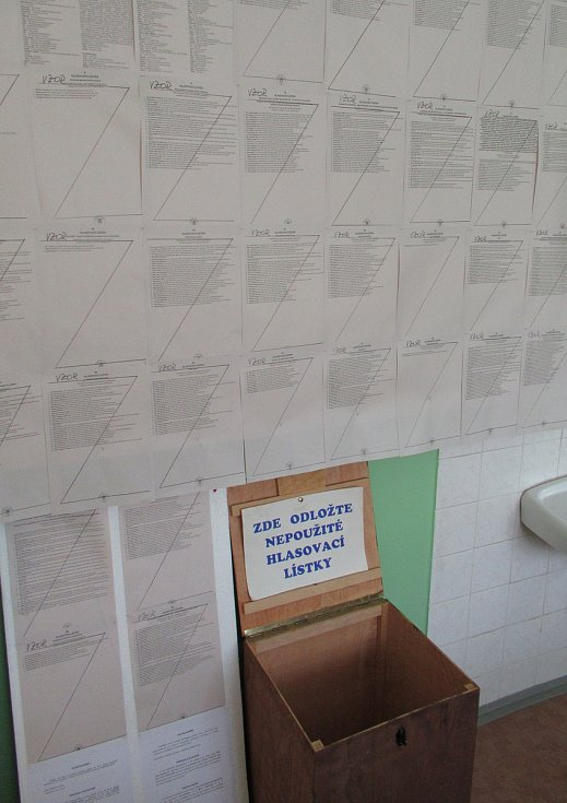 Volby do EU v Košicích.