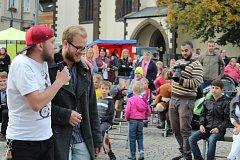 Charitativní koncert se konal na Žižkově náměstí.