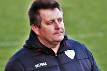 Hráče výběru FC MAS Táborsko Future bude mít ve třech utkáních pod dohledem Miloslav Brožek.