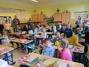 První školní den v ZŠ Jistebnice.