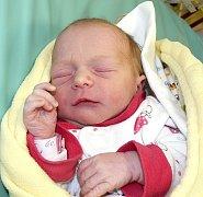 MARIE DRTINOVÁ ZE SOBĚSLAVI. Narodila se 24. června v 8.18 hodin rodičům Zuzaně a Janovi jako jejich první dítě.  Vážila 2690 g.