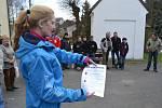 V sobotu se v republice konaly pochody proti jadernému úložišti. Šlo se i z Makova.
