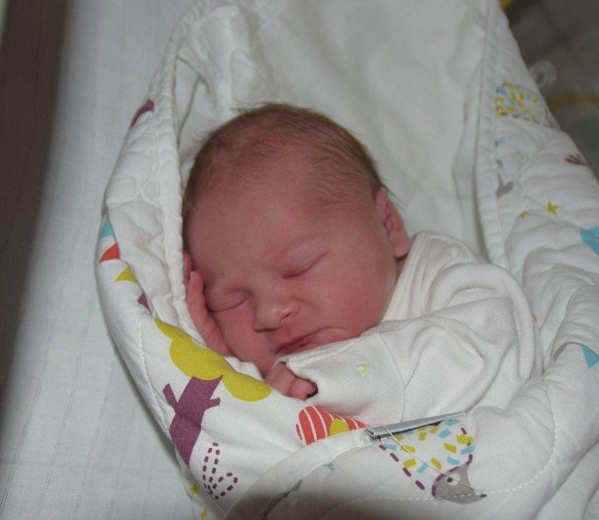 Vanesa Vlachová z Oldřichova. Narodila se 10. října v 7.16 hodin. Vážila 3300 gramů, měřila 49 cm a už má doma šestiletou sestřičku Simonku.