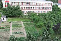 V bývalé školní zahradě má vzniknout hřiště pro seniory.