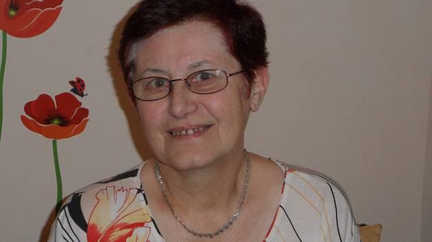 Dvaasedmdesátiletá Jana Forejtová.