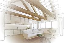 Studie využitelnosti prostor Staré radnice od architekta Bohuslava Šenkýře počítá s byty, galerií, velkým sálem i pivovarem.