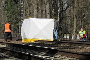 V sobotu 6. března dopoledne došlo asi 500 metrů od železniční zastávky Řípec - Dráchov směrem na Soběslav ke středu rychlíku  R722 zČeských Budějovic s osobou v kolejišti.