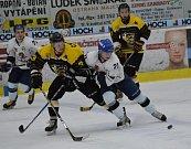 Z utkání HC Tábor - HC Moravské Budějovice 2005 (1:2).