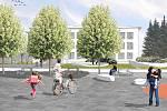 Cílem projektu revitalizace předprostoru základní školy a gymnázia v Soběslavi je zvýšit bezpečnost dopravy, rekonstrukce veřejného osvětlení, odvodnění ploch a realizace sadových úprav.