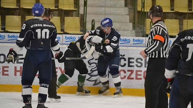 V zajímavém a emotivním duelu se z těsné výhry 3:2 radoval domácí tým Příbrami.