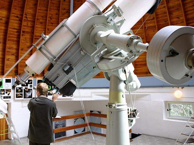 Observatoř na Kleti je nejvýše položenou hvězdárnou v Čechách.