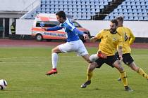 Z utkání Olympia Praha - FC MAS Táborsko 1:0.
