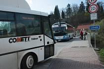 Dopravní komplikace v Čekovicích v Táboře.