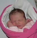 Linda Kovaldová z Tábora. Na svět poprvé pohlédla  13. března v 8.19 hodin. Po narození byla její váha  3330 gramů, měřila  49 cm a je druhým dítětem v rodině. Doma už má pětiletého brášku Matyáše.