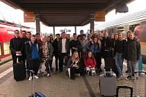 Studenti v Německu.