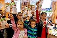 Děti se v projektu Zdravá pětka seznámily se zásadami zdravé výživy.