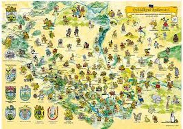 Mapa, která se zapsala do knihy rekordů.