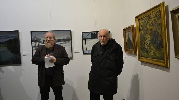 Profesor Milan Nakonečný oslavil narozeniny výstavou.