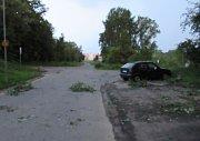 Na operačním středisku kolem 20. hodiny evidovali asi desítku událostí způsobených deštěm jenom v centru města Tábora.