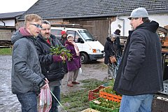 Adventní trh je v neděli na programu také ve dvoře chýnovského statku Svobodových.