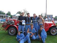 Do Novosedel nad Nežárkou jeli v roce 2005  hasiči z Vlkova soutěžit o pohár starosty.