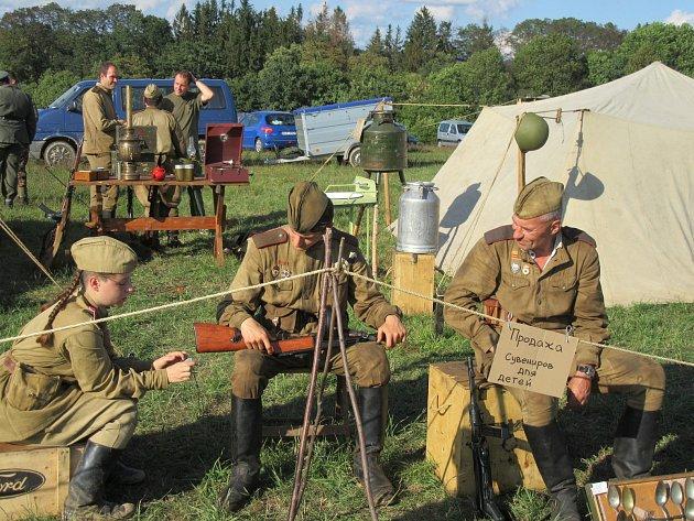 Den s armádou u Chýnova.