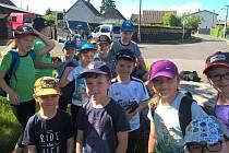 Děti z Tábora vyrazily do Klenovic.