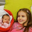 Monika Wortnerová ze Soběslavi. Narodila se 24. listopaduve 12.45 hodin. Vážila 3470 gramů, měřila 49 cm a má sestřičku Aničku, které je tři a půl roku.