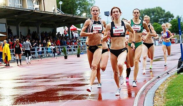Špičková atletika v Táboře.