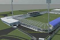 NOVÝ VZHLED. Takto by měl stadion vypadat po rekonstrukci.