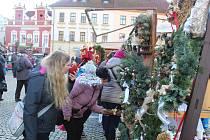Vánoční trh v Táboře. Ilustrační foto.