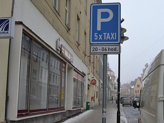 Rezervace pro taxi.