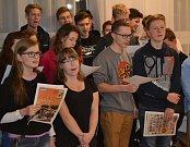 Domov mládeže Střední průmyslové školy strojní a stavební Tábor v Komenského ulici.