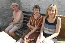 Josef Pejša, Marie Blažková ani její dcera Marcela nedají na Meziříčí dopustit.