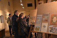 Obrazárna Špejchar nabídla návštěvníkům možnost si připomenout kouzlo knižních evergreenů s legendárními ilustracemi Josefa Lady, Zdeňka Buriana, Jiřího Trnky a řady dalších.