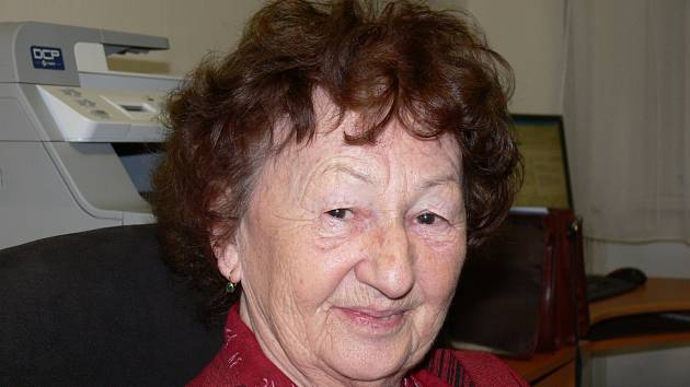 Anna Zemanová, dcera Bohuslava Eberleho
