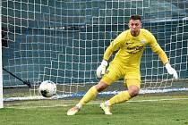 Brankář Šimon Pecháček tentokrát porážce nezabránil, byť inkasoval od pražského lídra tabulky jediný gól.