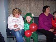 Maškarní karneval si v Mladé Vožici užily nejen děti.