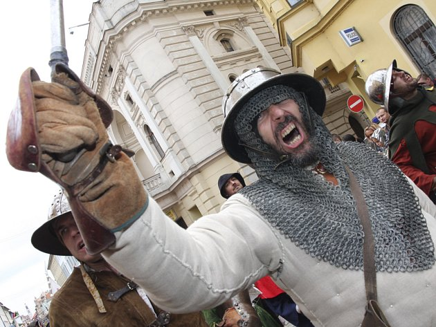 Tábor se vrátí do 15. století a opět přivítá svého hejtmana Jana Žižku.