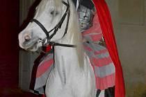 Svatý Martin na bílém koni.