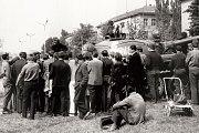 Dosud nepublikované snímky ze srpna 1968 v Táboře.