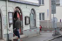 Bar u autobusového nádraží, v němž se v noci 1. dubna stala vražda.