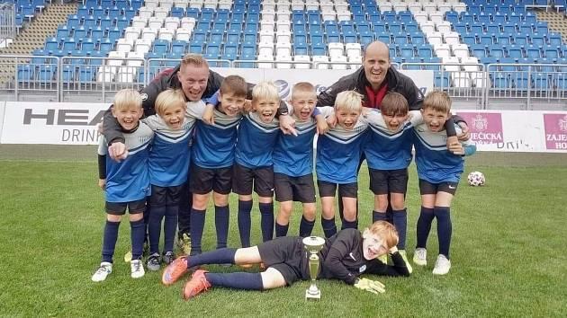 Úspěšný tým FC MAS Táborsko U9.