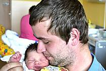 NATÁLIE ZAHRÁDKOVÁ Z KOMÁROVA. Narodila se 21. září v 18.54 hodin  jako první dítě rodičů Jany a Jana. Vážila 2760 g, měřila 46 cm.