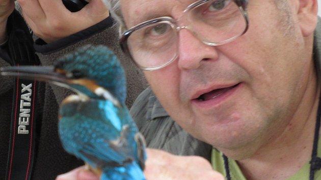OBRAZEM: Ornitologové kroužkovali ptáky